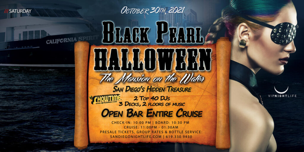 San Diego Halloween Black Pearl Yacht Party